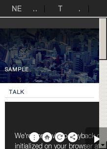 テクノロジーニュースキュレーション(SAMPLE)